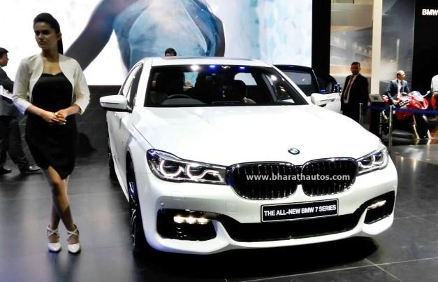 New Bmw 7 Series 2016 Auto Expo Pictures