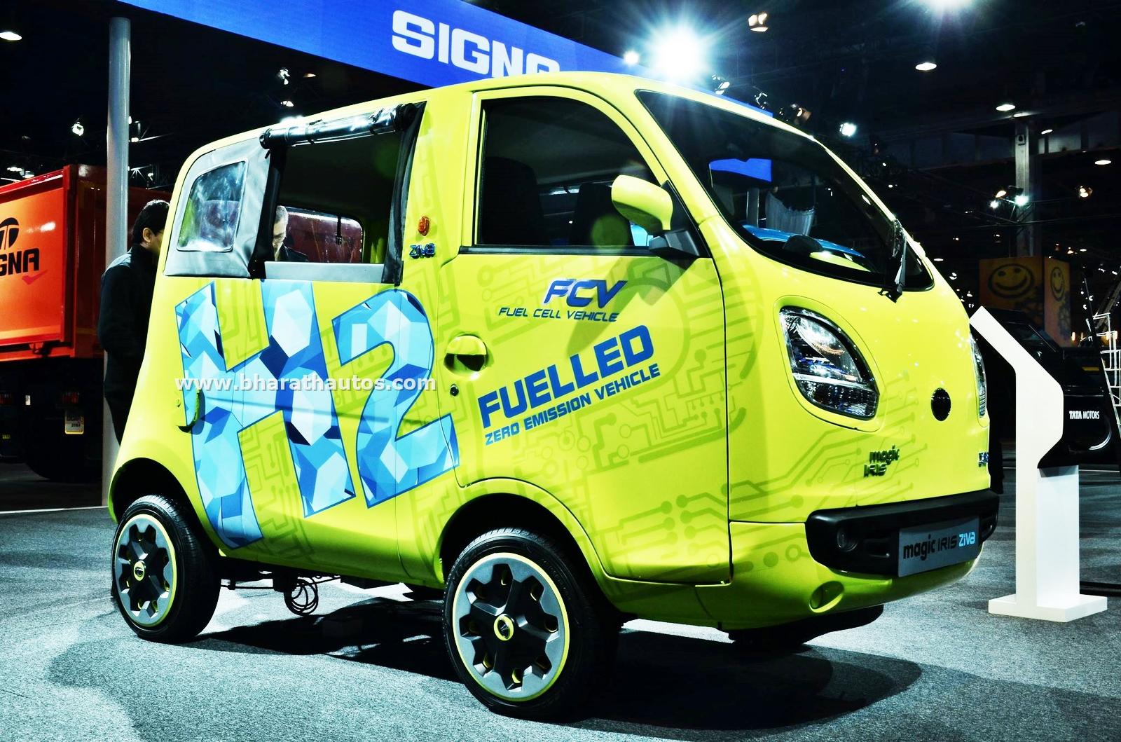 Tata Magic Iris Ziva Fuel Cell Pictures Photos Images Snaps 2016