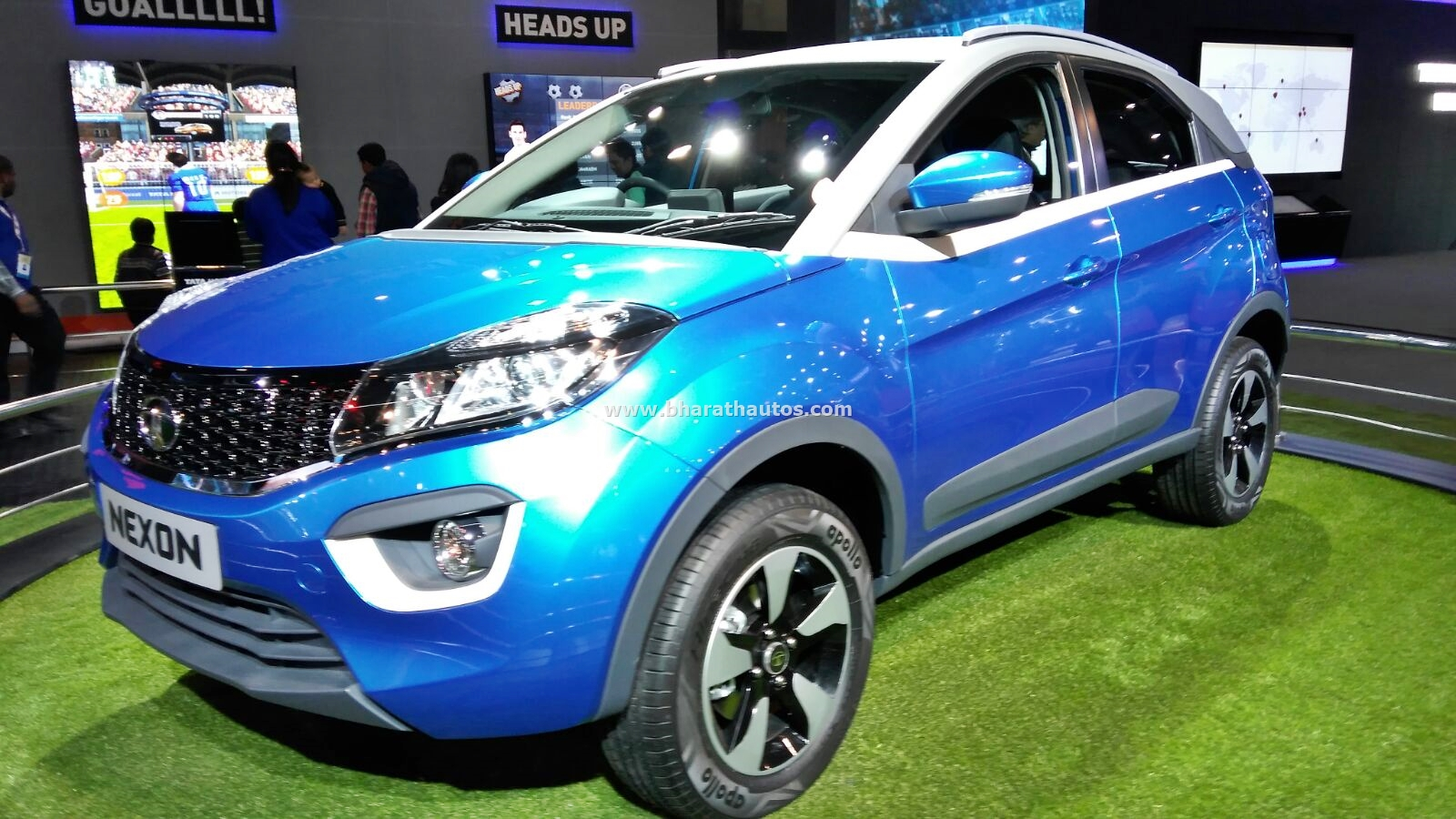 First Live Shots Of The Production Version Tata Nexon