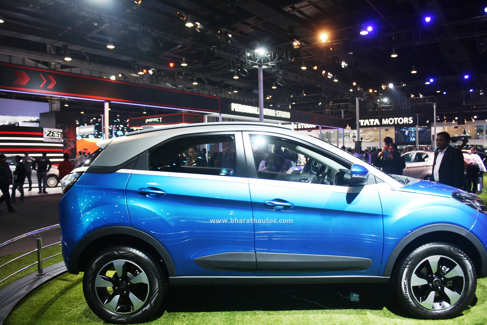 First Live Shots of the Production-version Tata Nexon ...