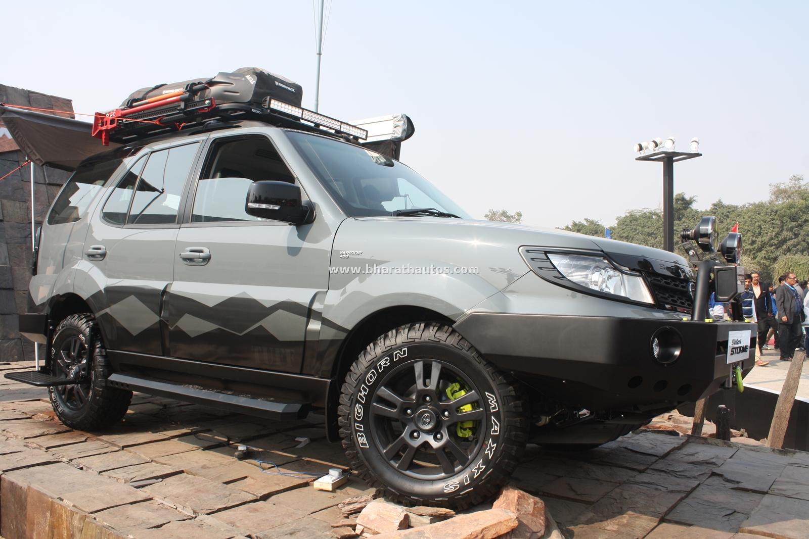 Tata Safari Storme Tuff Concept Pictures Photos Images