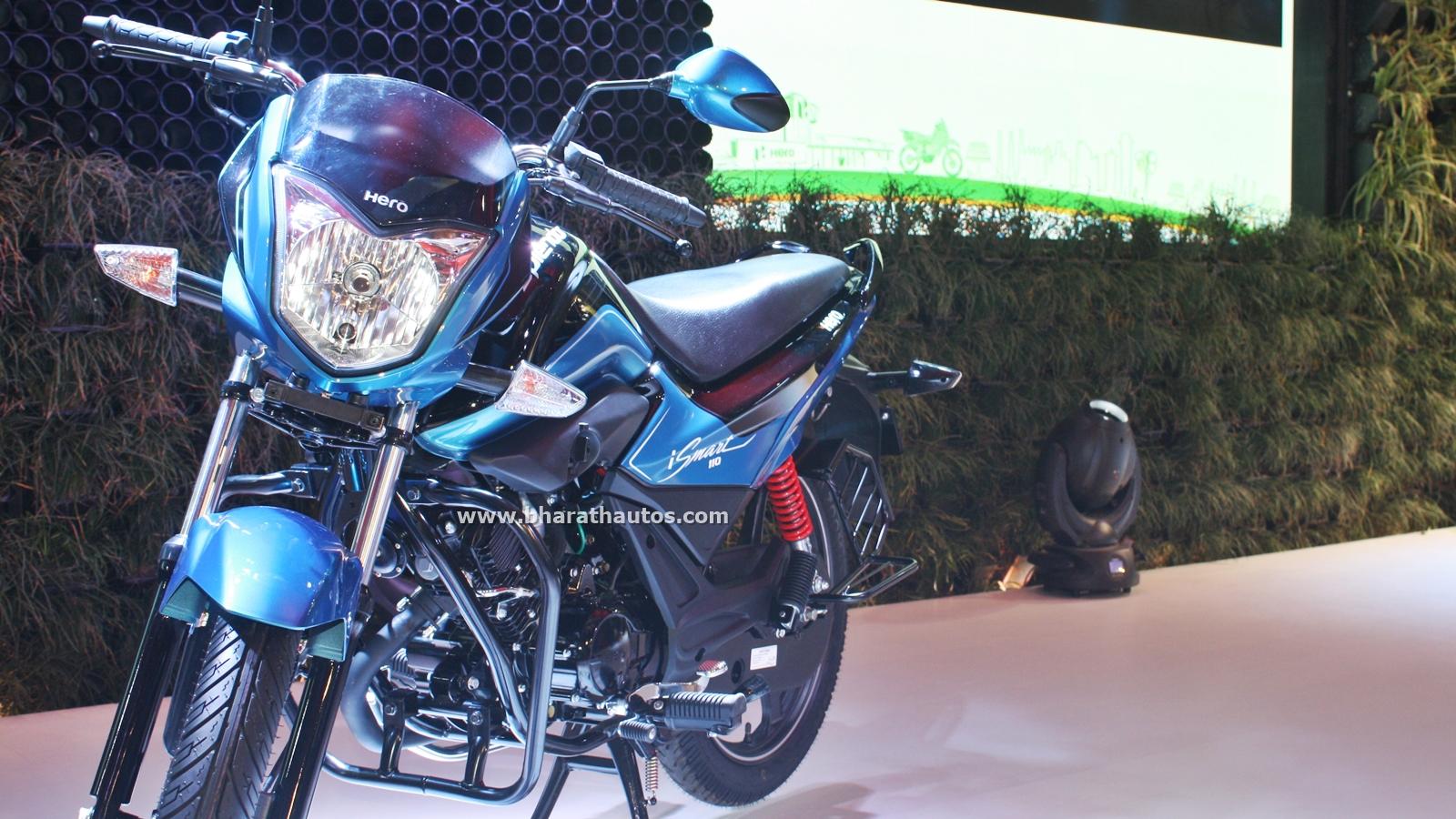 All New Hero Splendor Ismart 110 At 13th Auto Expo 2016 Honda Bikes India