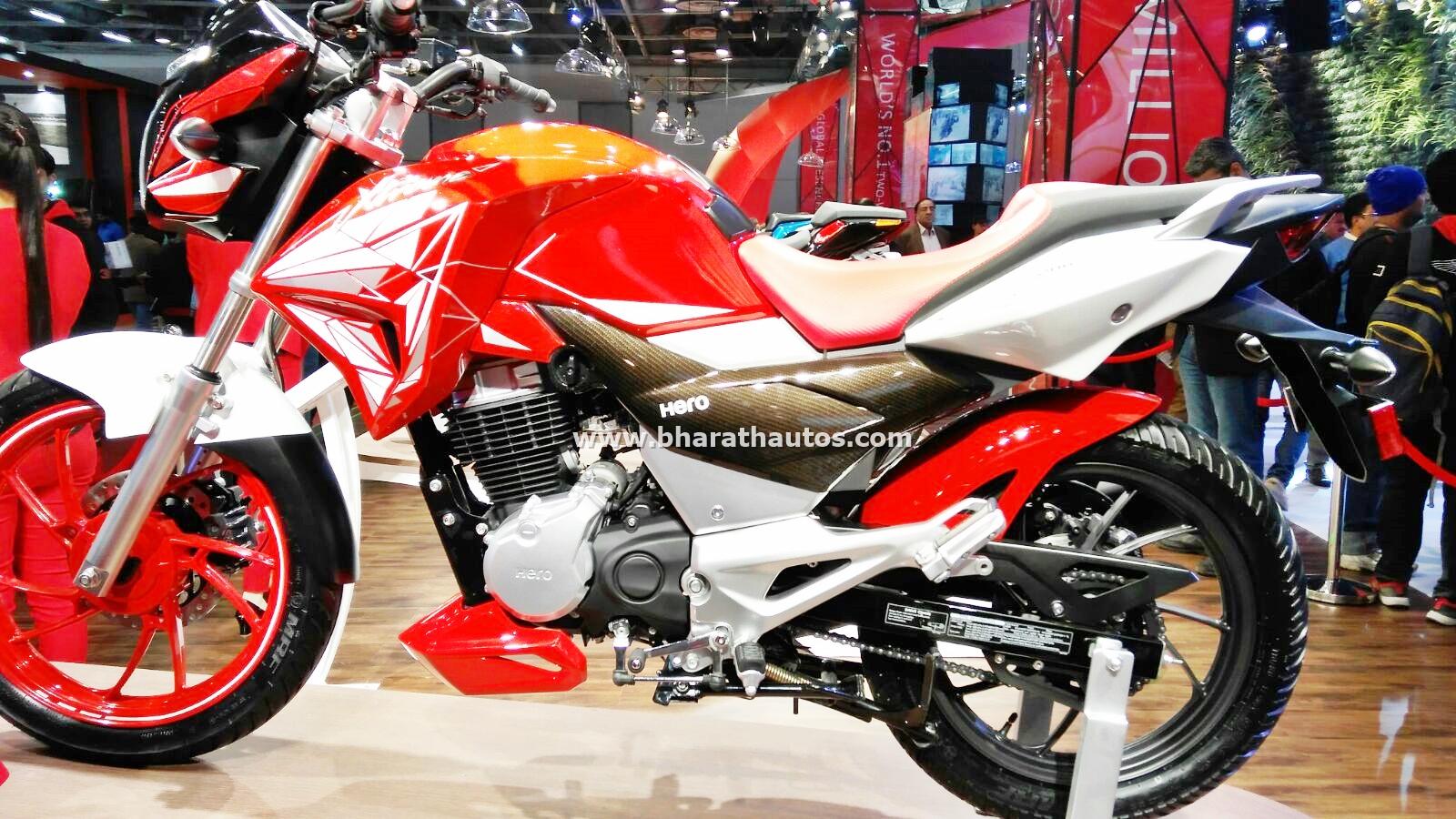Hero Xtreme 200 S debuts at 13th Auto Expo 2016