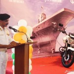 invincible-bajaj-v15-launched-in-mangalore-captain-m-c-belliappa-commanding-officer-karnataka-naval-unit-ncc-ins-vikrant-warship