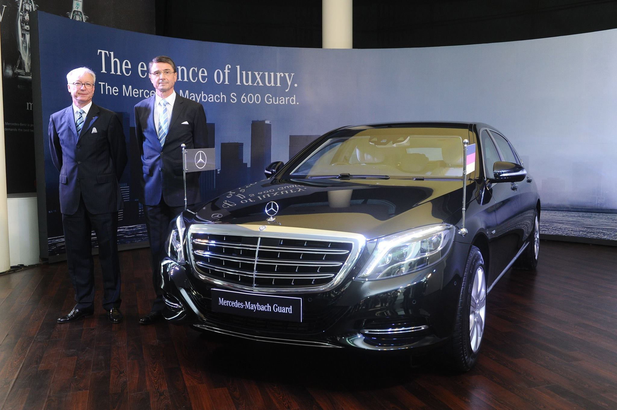 Mercedes maybach s 600 guard launched in india priced at for Mercedes benz guard for sale