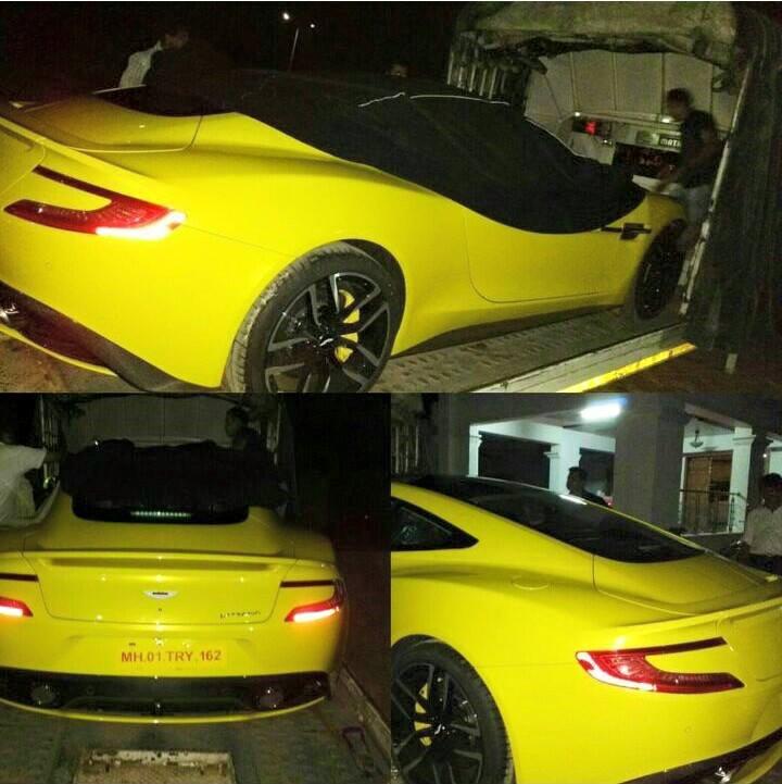 2016 Aston Martin Vanquish Camshaft: New Aston Martin Vanquish Arrives In Mangalore