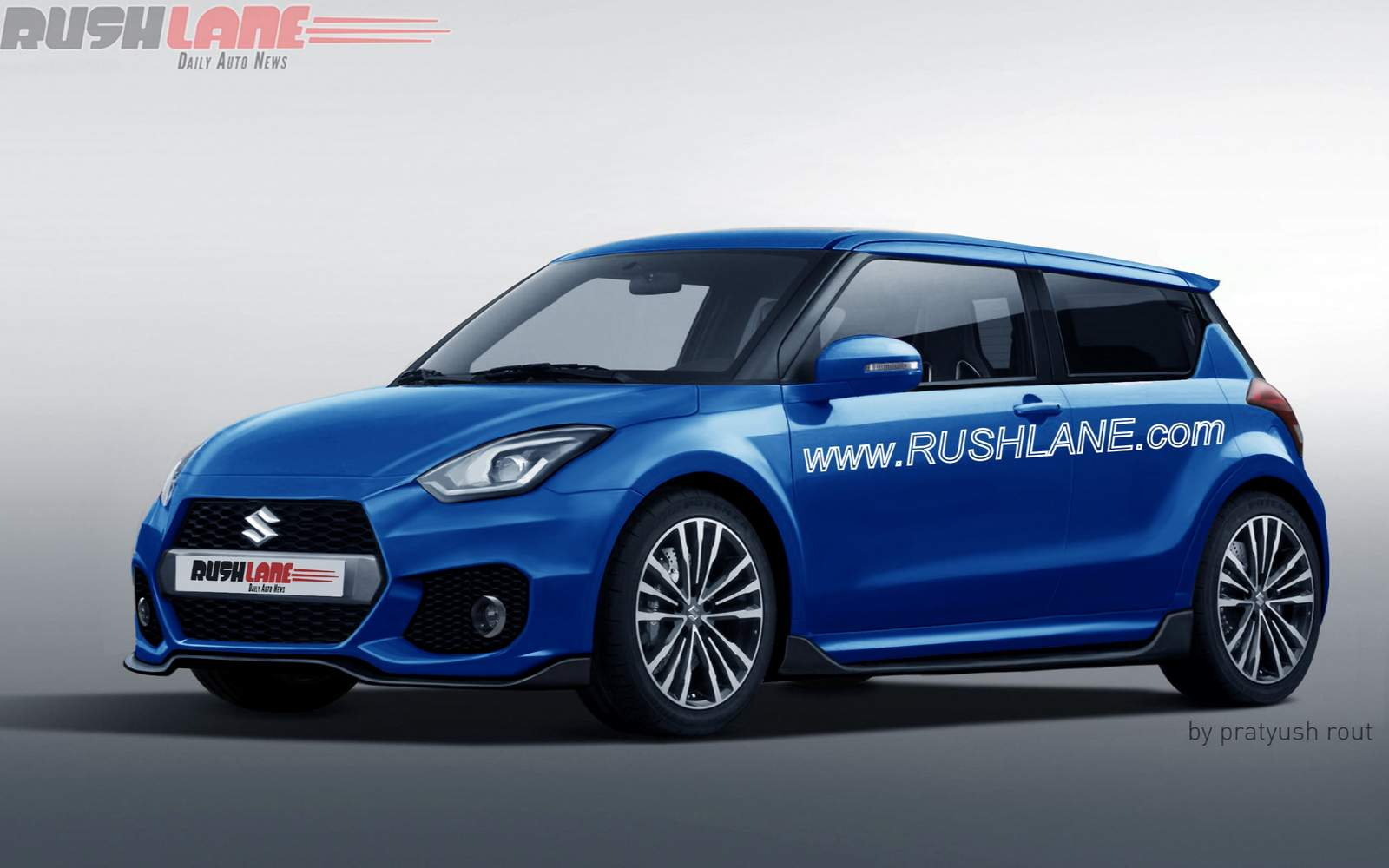 2017 Suzuki Swift Sport Blue Rendered Bharathautos Automobile 06 Subaru Forester Interior Wiring Diagram