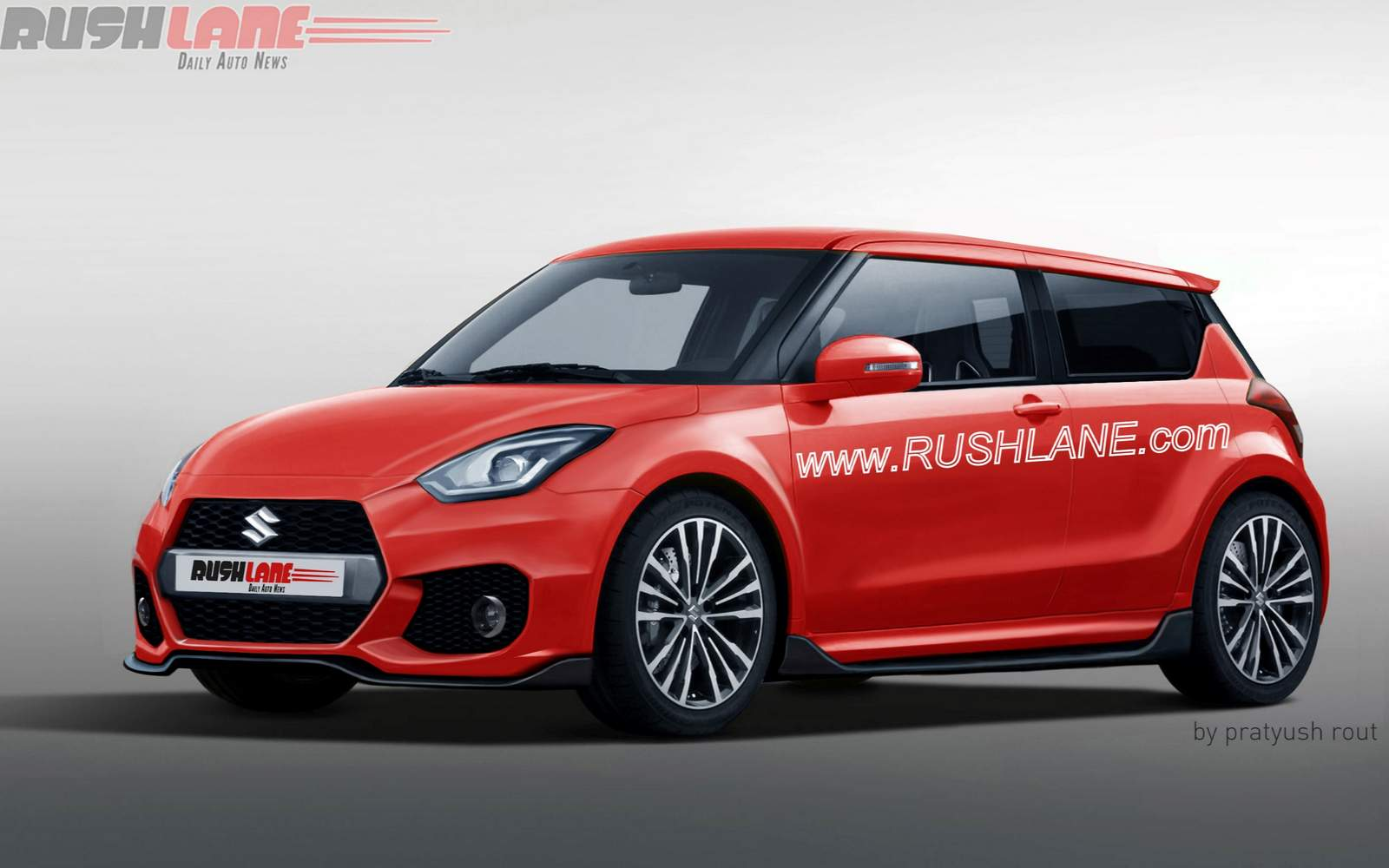upcoming suzuki swift rendered as third gen sport model. Black Bedroom Furniture Sets. Home Design Ideas