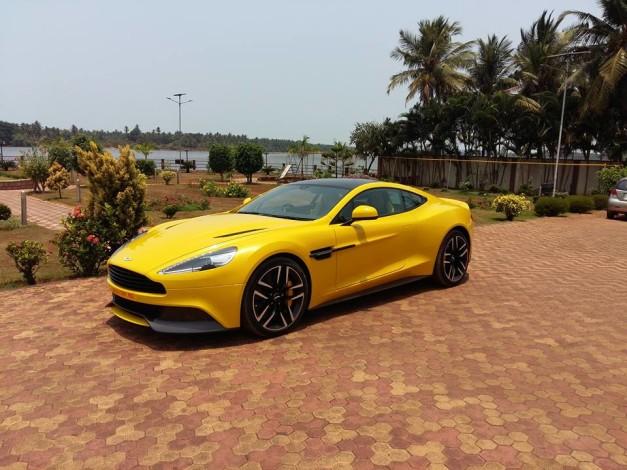 aston-martin-vanquish-sunburst-yellow-side-profile-mangalore-karnataka-india