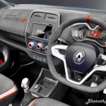 renault-kwid-racer-concept-limited-edition-india-dashboard-interior-cabin-inside