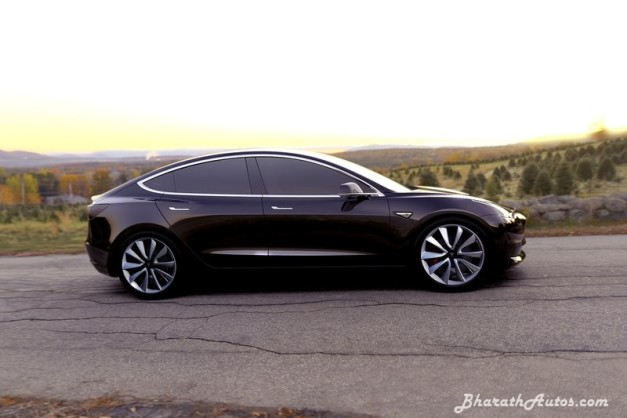 tesla-model-3-india-pictures-photos-images-snaps-side-profile