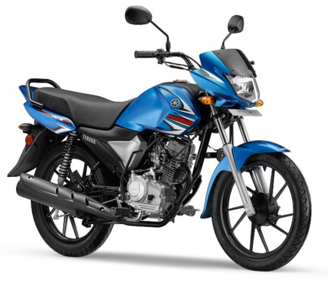 yamaha saluto rx 110cc commuter motorcycle launched rs 46 400. Black Bedroom Furniture Sets. Home Design Ideas