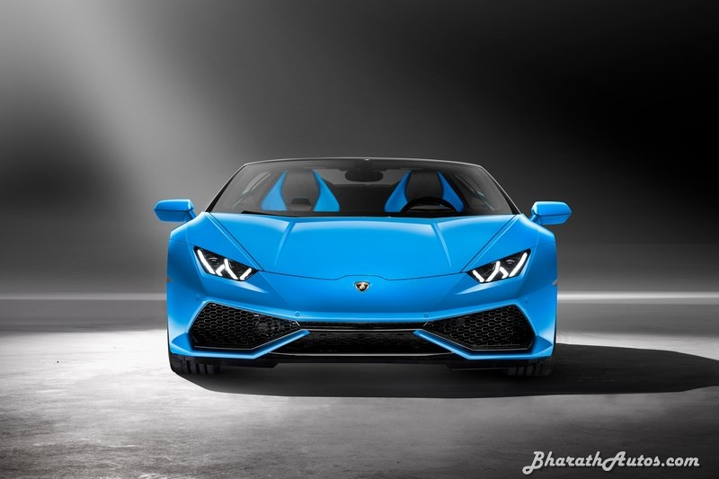 Lamborghini Huracan Spyder Front End Pictures Photos Images Snaps