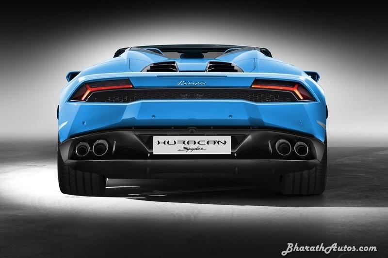 Lamborghini rear end
