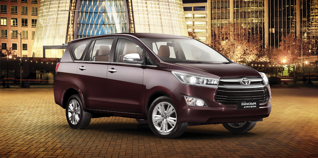 Toyota Innova Crysta Launched In India From Rs 13 84 Lakh