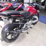 bajaj-pulsar-135-ls-cocktail-wine-red-colour-high-stance-rear