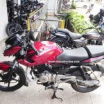 bajaj-pulsar-135-ls-cocktail-wine-red-colour-side-profile