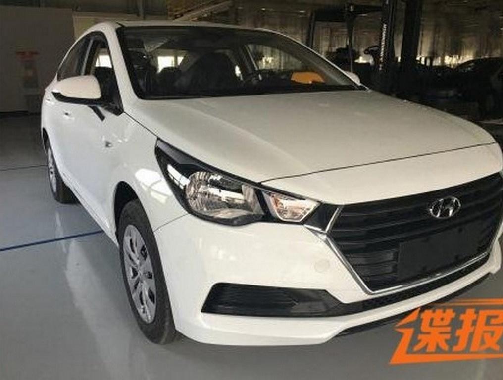Spyshots Next Gen 2017 Hyundai Verna Caught Completely Naked