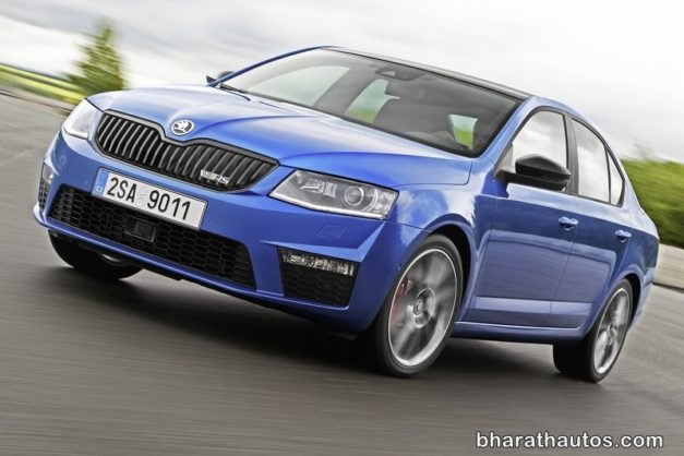 skoda-octavia-vrs-front-shape-india-pictures-photos-images-snaps-video