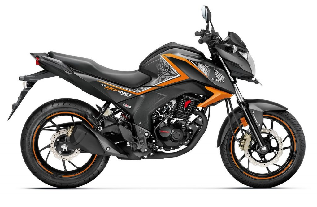 Cars Under 1000 >> Honda CB Hornet 160R Special Edition launched - Striking Green, Mars Orange