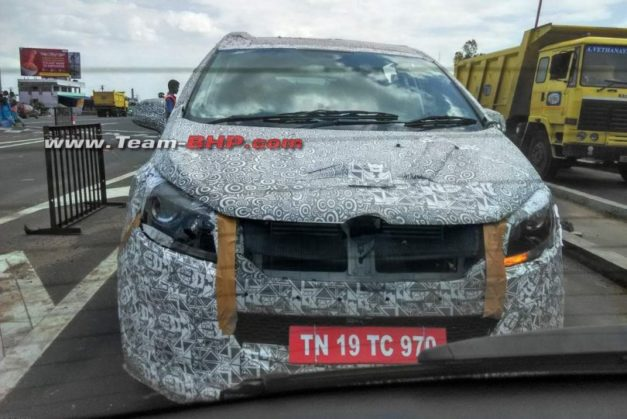 mahindra-mpv-codename-u321-front-pictures-photos-images-snaps