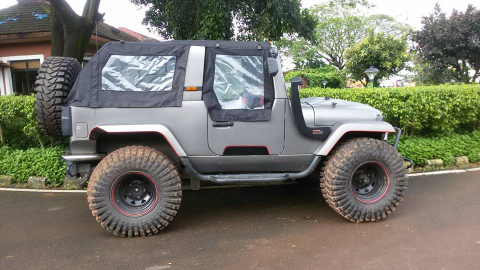 Mahindra Thar Daybreak Edition By Mahindra Customization
