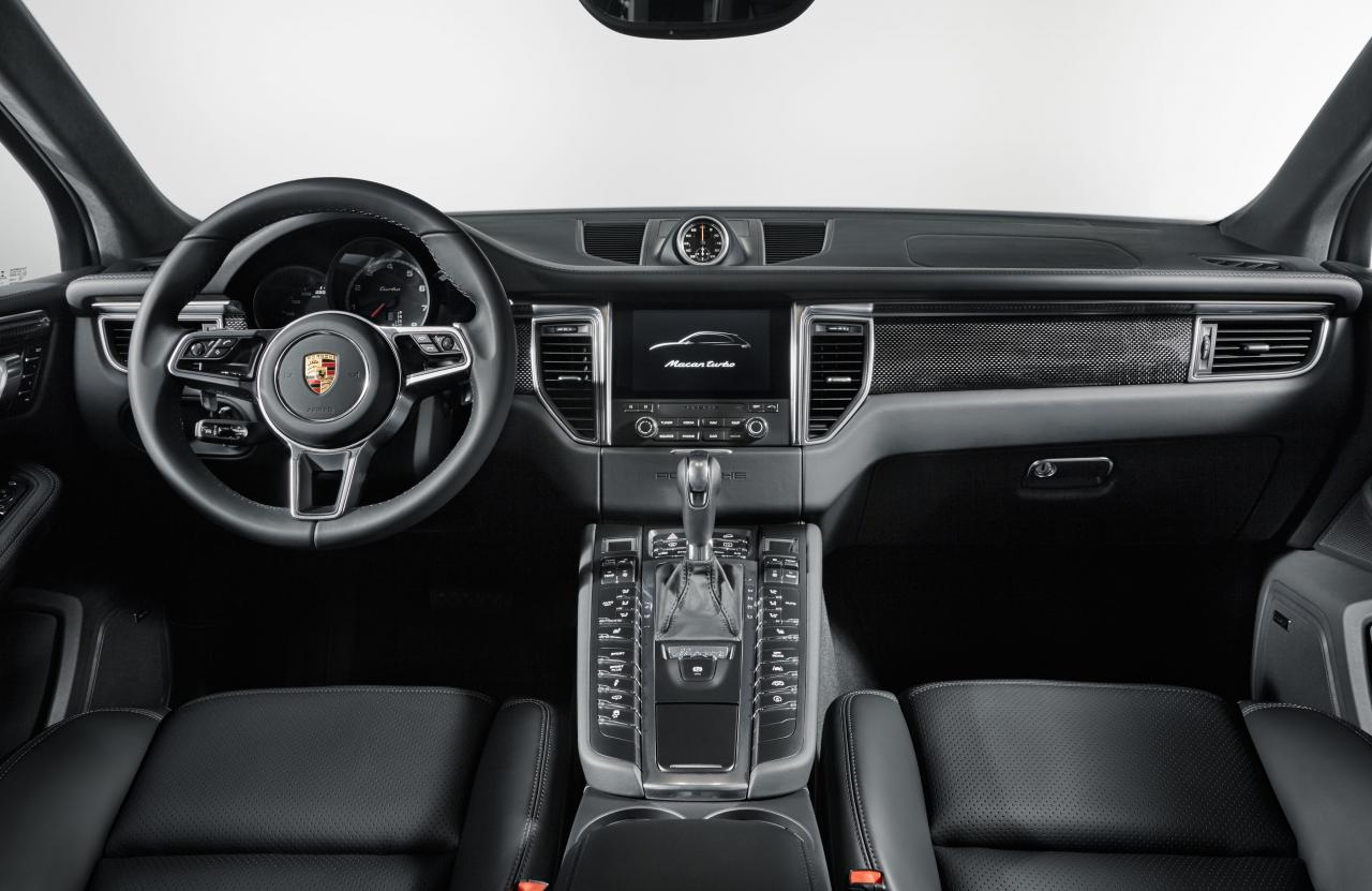 Porsche Macan Turbo Performance Package India Interior Dashboard