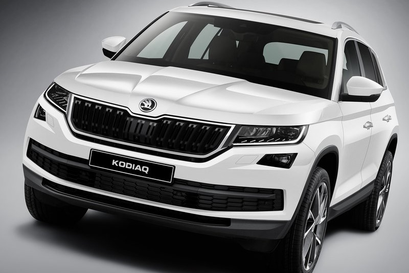 skoda kodiaq suv officially revealed india launch in sep 2017. Black Bedroom Furniture Sets. Home Design Ideas