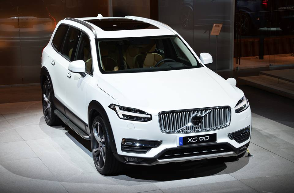 Volvo Xc90 Excellence Hybrid Phev Twin Engine India Pictures Photos
