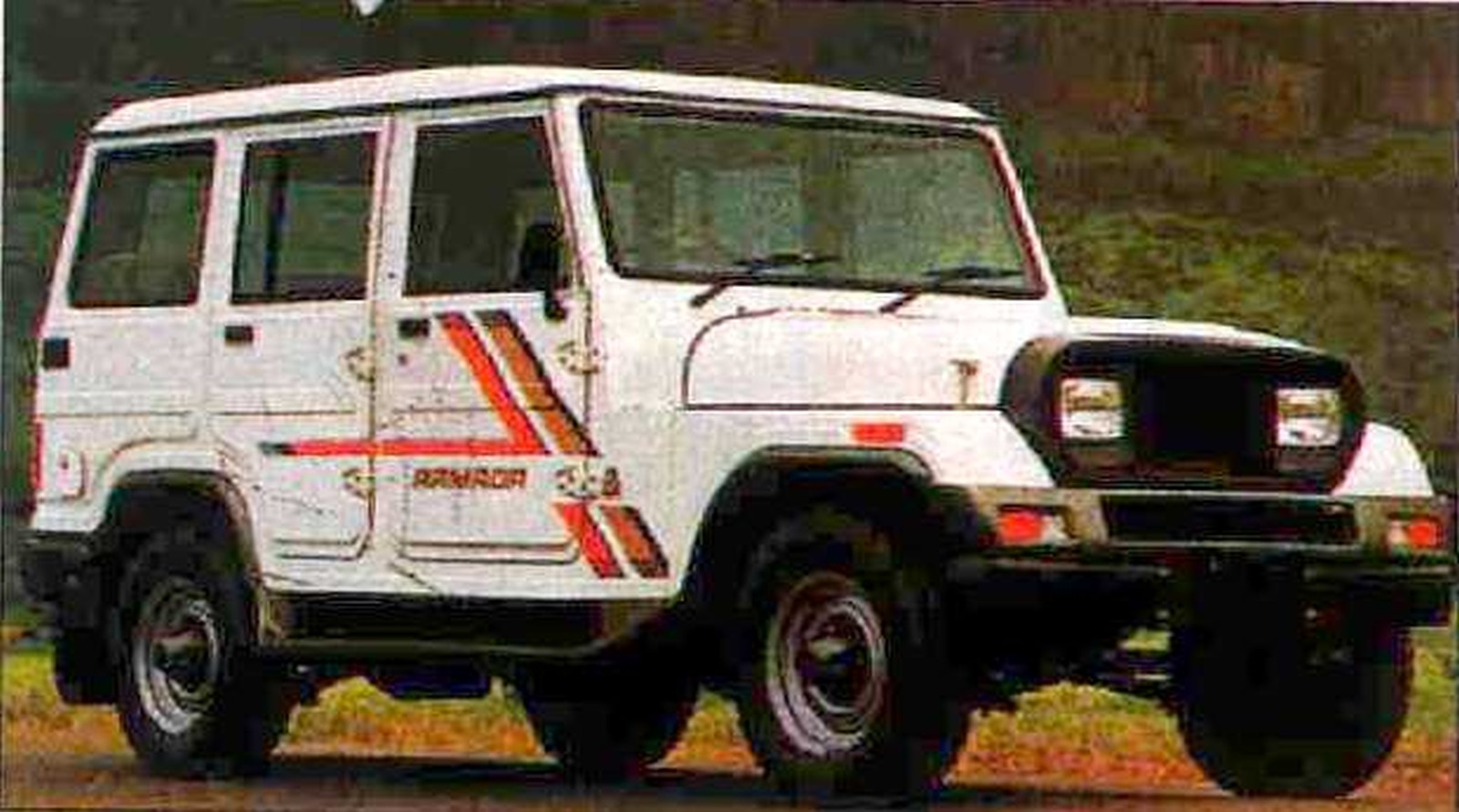 Mahindra Armada Latest Artist S Renderings Reminds Of A Nostalgia Past