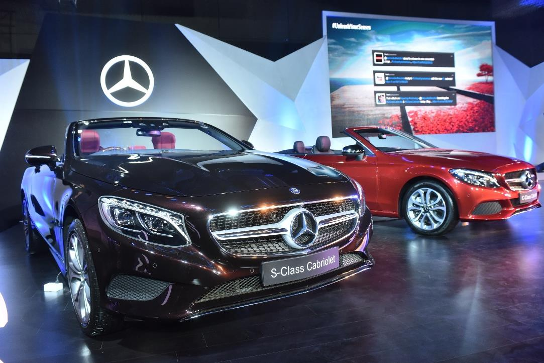 Mercedes benz c cabriolet and s cabriolet on sale in india for Mercedes benz for sale in india