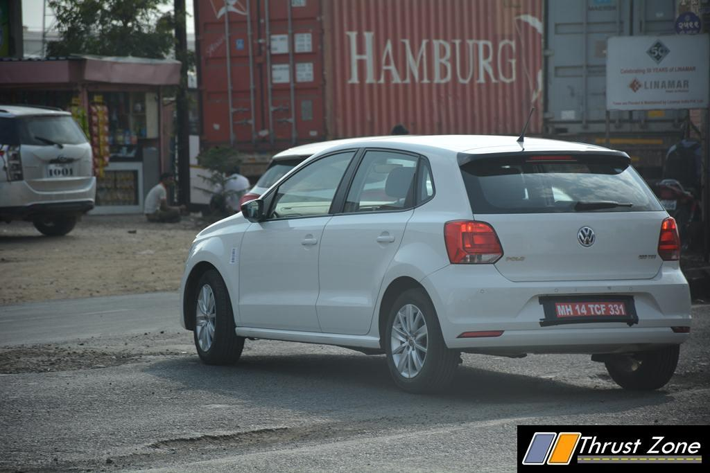 volkswagen polo 180 tsi spotted likely to get 1 4 tsi engine. Black Bedroom Furniture Sets. Home Design Ideas