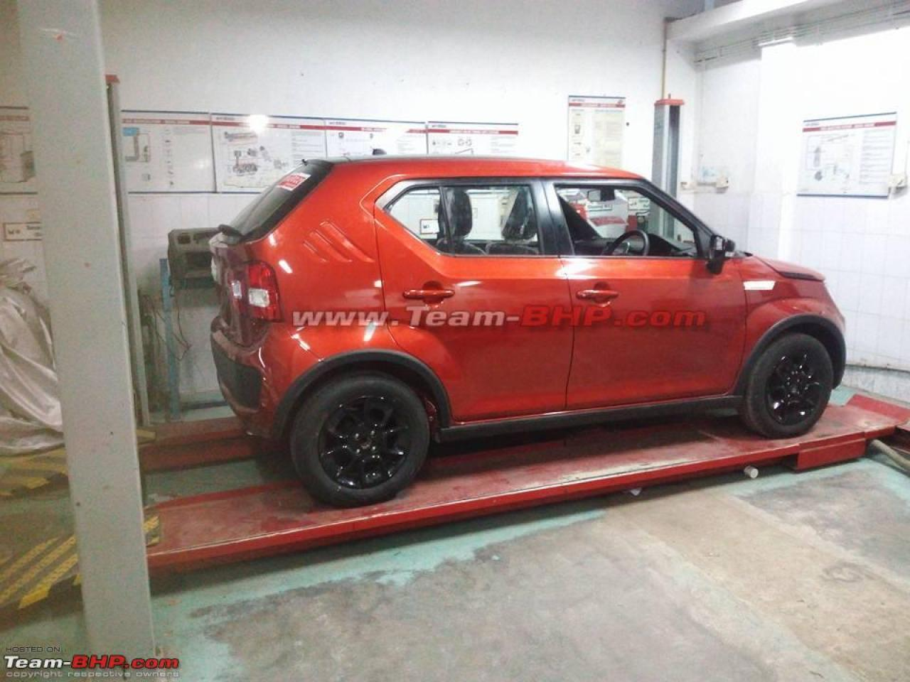 maruti-suzuki-ignis-spied-india-launch