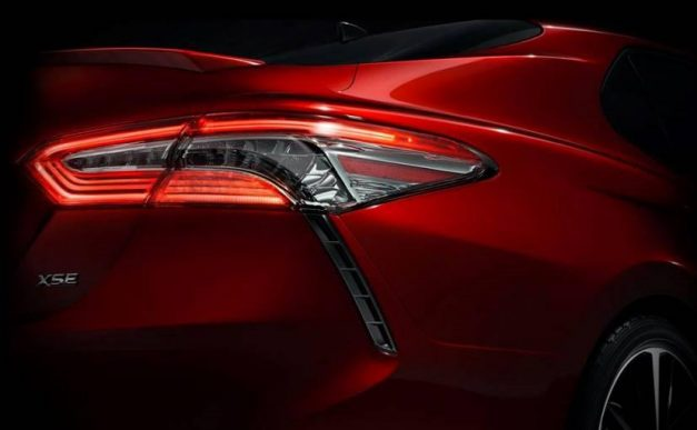 next-gen-toyota-camry-teased-india-launch