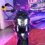 bajaj-dominar-400-supreme-motors-mangalore-front-shape