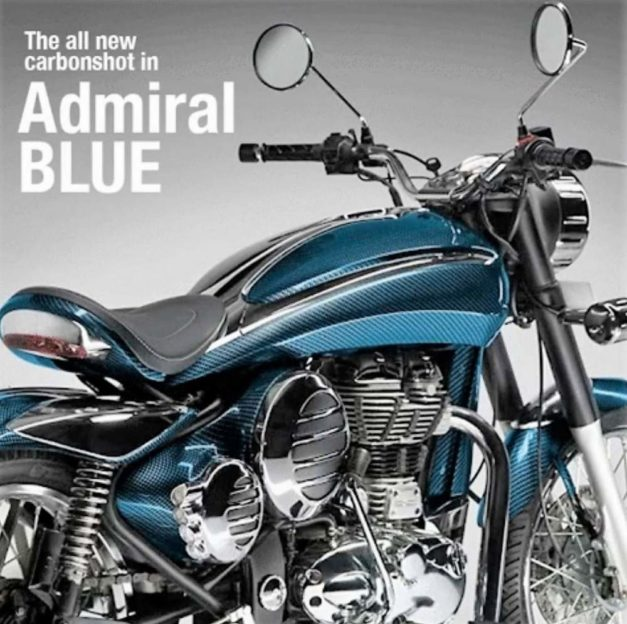 dc-design-royal-enfield-classic-bullet-350-500-dc2-carbonshot-kit-admiral-blue-pictures-photos-images-snaps-video