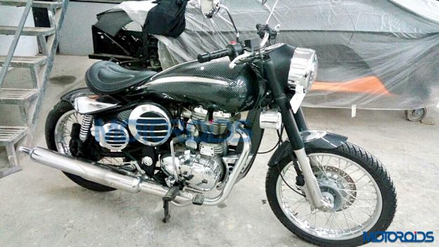 modified-royal-enfield-500-dc-design-body-kit-side-pictures-photos-images-snaps-video