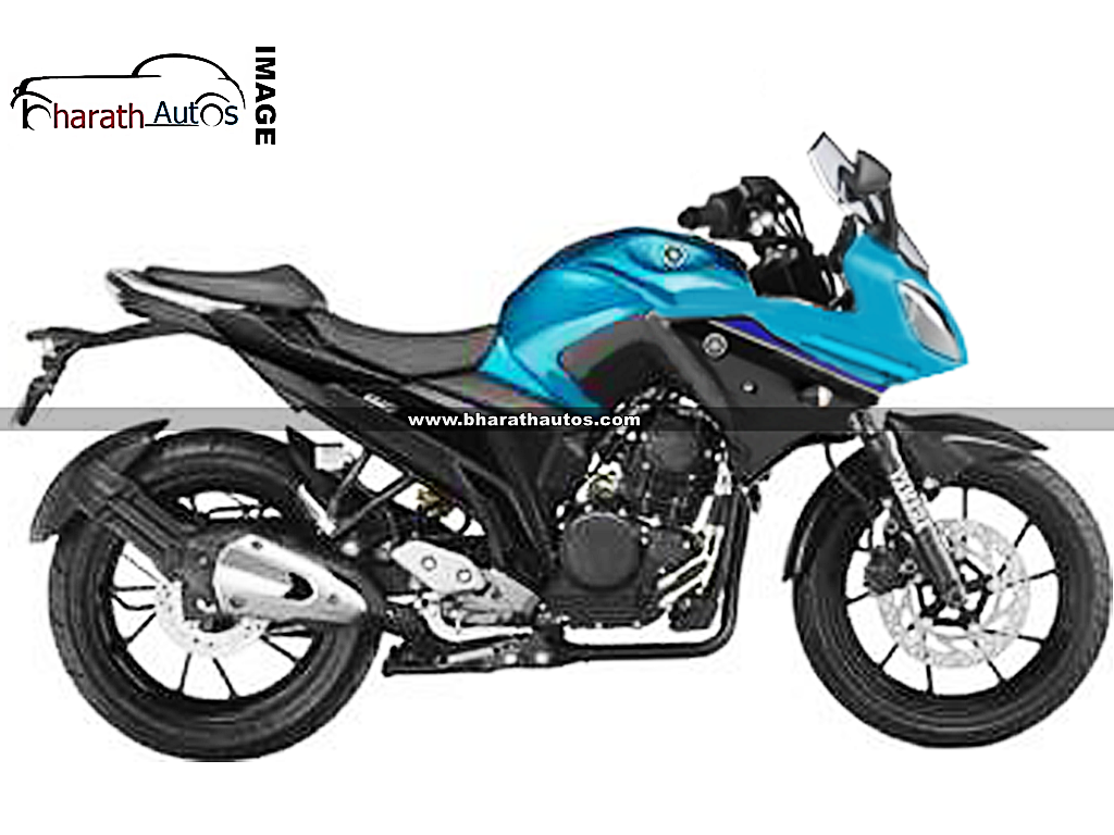 yamaha fazer 250 a tourer version of the new fz 25 in works. Black Bedroom Furniture Sets. Home Design Ideas