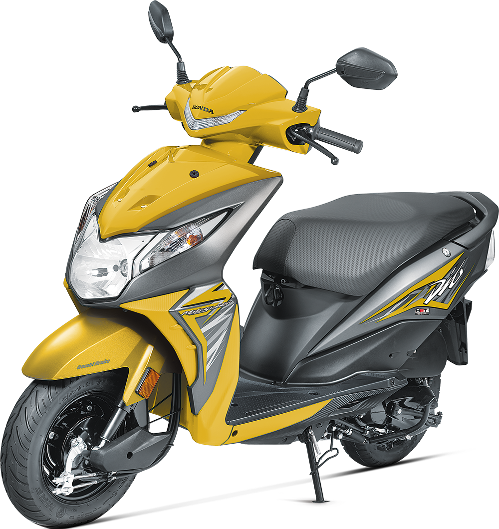 The 2017 bsiv compliant honda dio is 2 kg lighter than the outgoing bsiii model