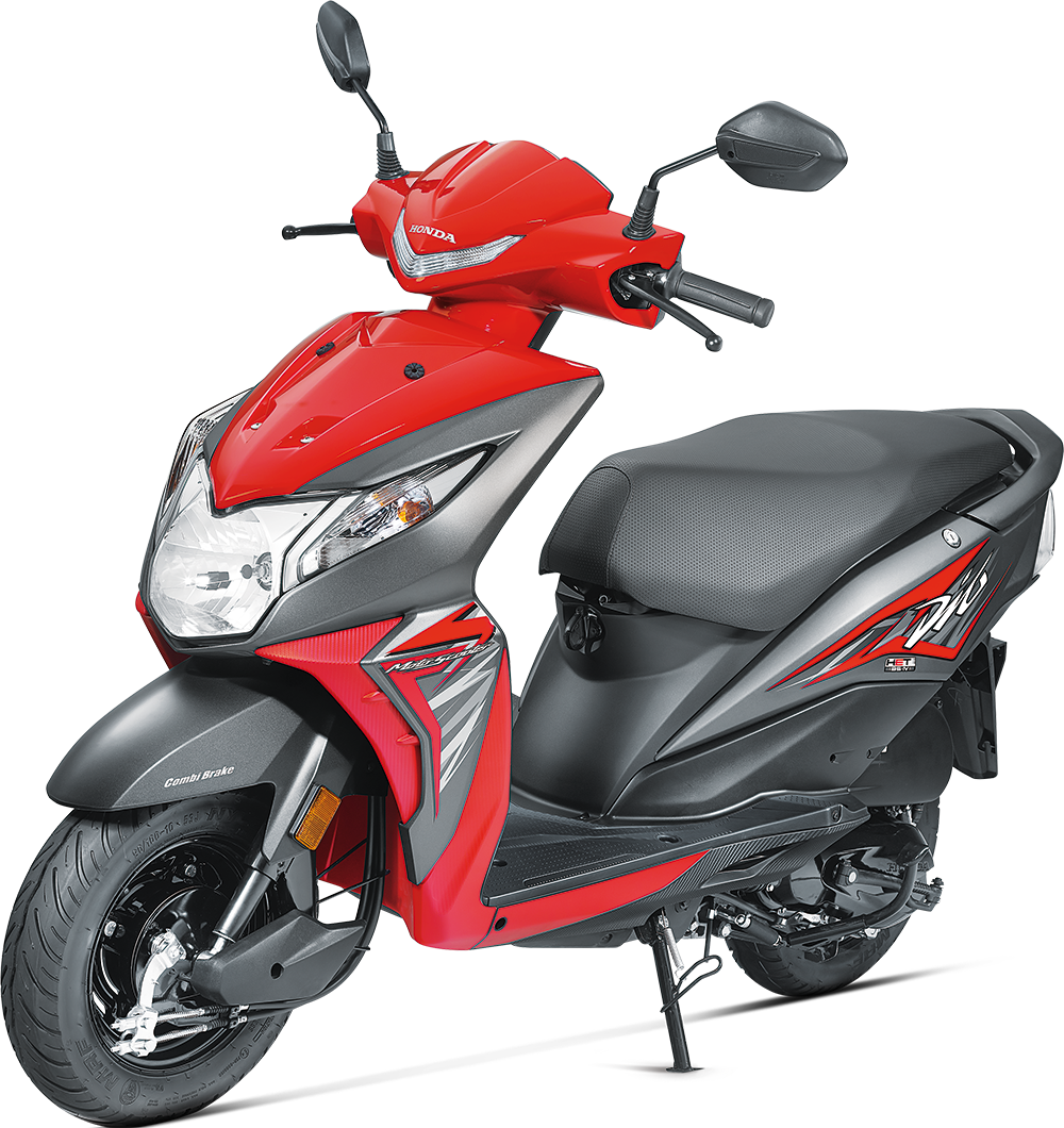 2017 Honda Dio BS4 with updated front, LED, AHO launched