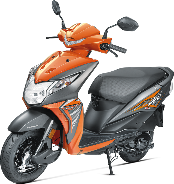 2017 honda dio bs4 with updated front led aho launched