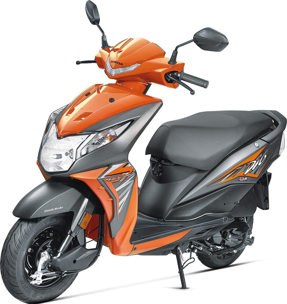 The new 2017 dio gets bs4 aho and some cosmetic changes 2 new colours vibrant orange and pearl sports yellow