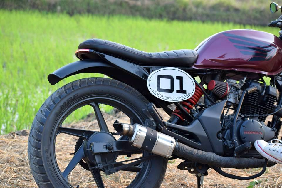 Cafe Racer Exhaust India
