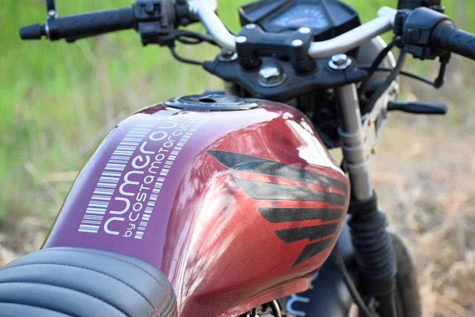 Modified Honda Unicorn 150 Café Racer by Costa Motorcycle Co