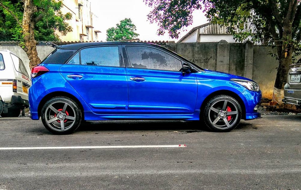 Picture Here Is For Representational Purpose Only Of A Modified Elite I20 From Kerala