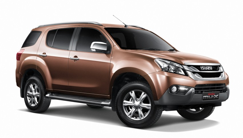 Isuzu MU-X launched in India - from Rs. 23.99 lakh, 3.0L 4 ...