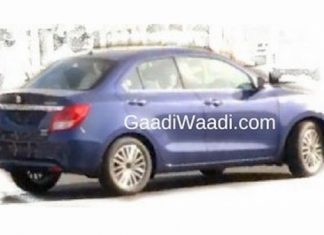 new-2017-maruti-dzire-3rd-gen-spied-undisguised-launch-date