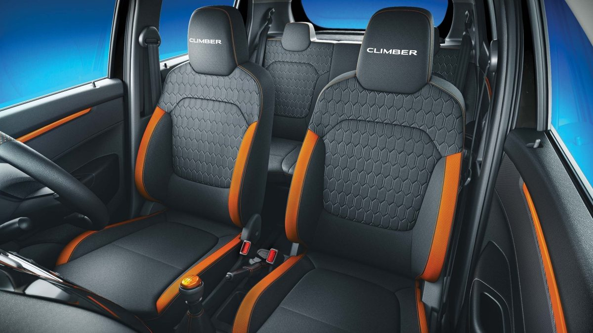 Renault Kwid Climber Edition Seat Cover Pictures Photos