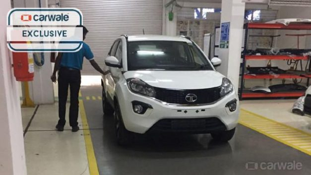 tata-nexon-compact-suv-white-production-guise-pictures-photos-images-snaps-video