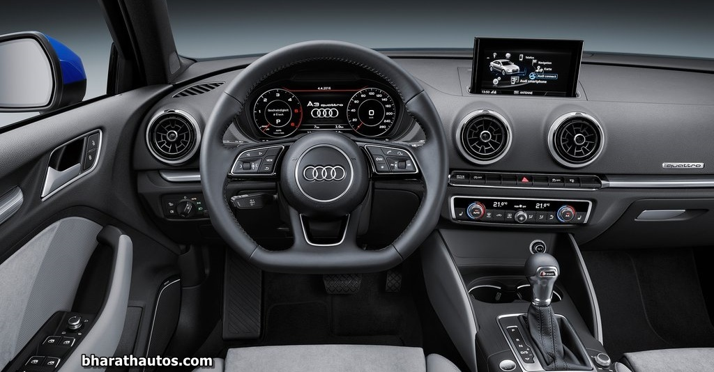 2017 Audi A3 (facelift) launched in India - Rs. 30.5-35.8 lakh